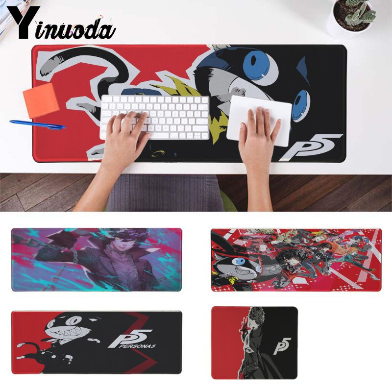 Yinuoda Boy Gift Pad persona game Durable Rubber anime Mouse Mat Pad Computer game gaming Mousepad Best Mats for Gamer Gift image