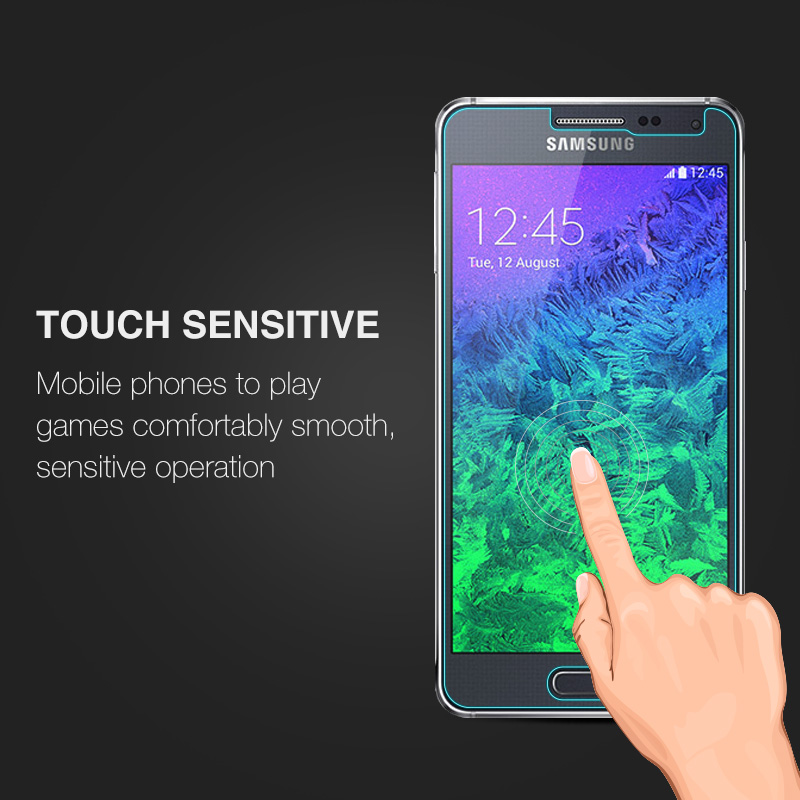 Image 5 - 0.26mm Screen Protector Explosion Proof On Phone 2.5D Tempered Glass Film For Samsung GALAXY Alpha G850 G850F G8508 G8508S G8509-in Phone Screen Protectors from Cellphones & Telecommunications