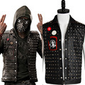 Watch Dogs 2 Wrench I am Dedsec Shawn Baichoo Vest Mask Hot Game New Original 100% Cosplay Costume Halloween Uniform Outfit