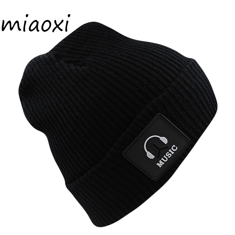 miaoxi Women Winter Hat Casual Knit Warm Hats Red Girl Beauty Favourite Beanies Bonnet New Hip Hop Gorro Cap For Woman aaliyah microphone minions headband headset cute cartoon yellow headphone for kids stereo earphone for samsung xiaomi 3 5mm plug