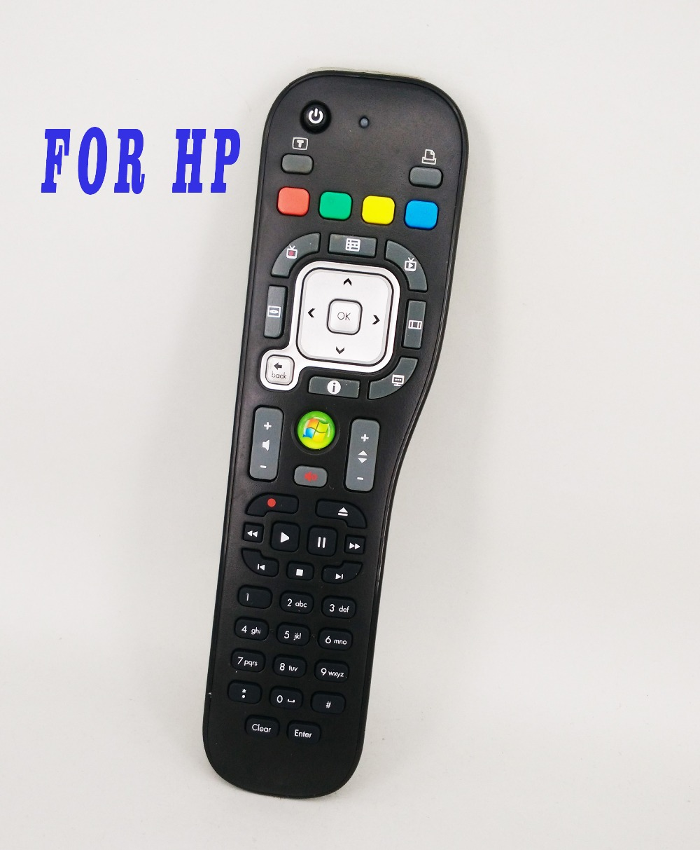 Used Original TSGH-IR03 P/N:589761-ZH1 For HP WINDOWS Desktop PC Media Center System Remote Control Picasso 2 Iconic ...