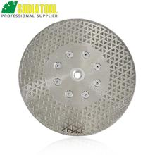 DIATOOL 1pc Electroplated diamond cutting & grinding blade marble Both side coated diamond disc 1pc 7 180mm electroplated diamond cutting and grinding discs for granite