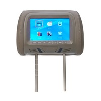 7 Inch Car Headrest Monitor LCD Screen Car Rearview Monitor Car MP5 Player Car Pillow Monitors