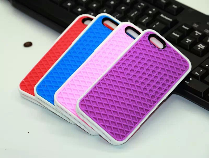 YoneShone VANS Waffle Case For Apple iPhone6 6s 7 7 Plus 5 5s SE Cover Soft Rubber Silicone Waffle Shoe Sole Mobile Phone Fundas