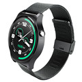 GW01 Smart Watch IPS Round Screen Life Water Resistance Watch Phone Support Heart Rate Monitor Pedometer Dialing Anti-lost Alarm