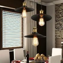 Modern Art Deco negro 3 cabeza luces pendientes lámpara cable de hierro loft minimalista led Maestro dormitorio cocina bar Salón cafetería del Hotel Habitación