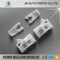 JIERUI X4 PLASTIC CLIPS FOR PEUGEOT 306 WINDOW REGULATOR REPAIR KIT 2/3 4/5 DOOR RONT  LEFT AND RIGHT  1993 to 2002