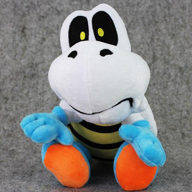 954b9588a48007 25 cm Game Super Mario Knuffel Dry Bones Pluche Speelgoed Zachte Knuffels  Poppen Kerstcadeau Voor Kinderen
