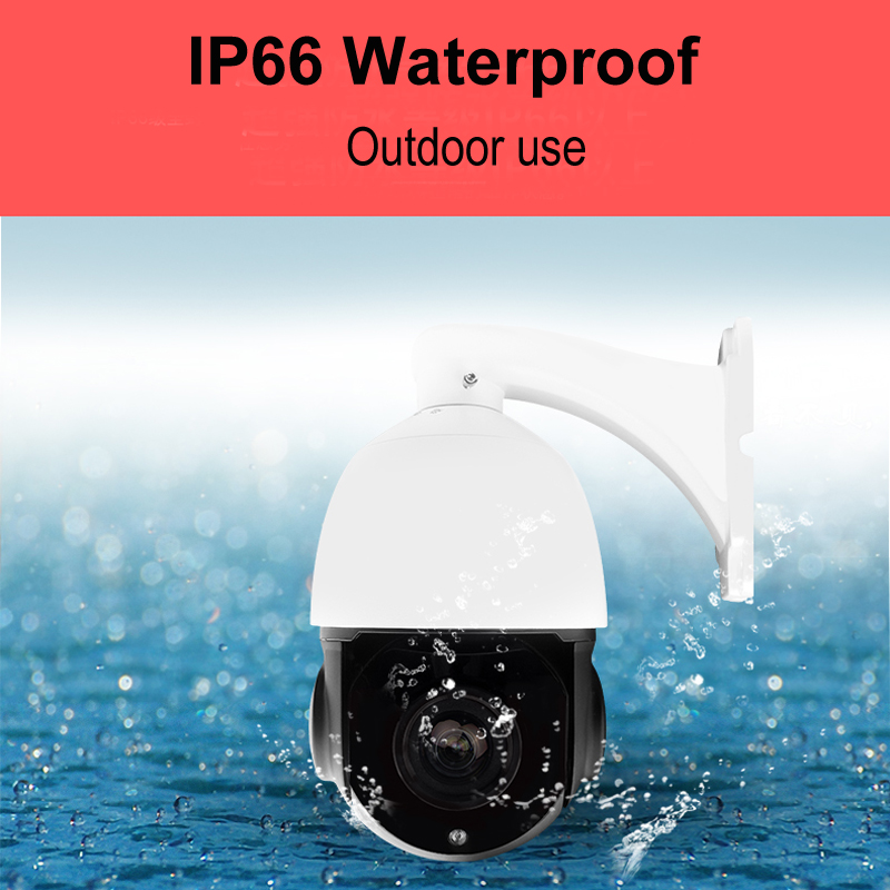 Image 4 - Onvif H.264/265 5MP 4MP 3MP 2MP 80m IR nightvision CCTV security IP PTZ camera speed dome 30X zoom network 48V POE ptz ip camera-in Surveillance Cameras from Security & Protection