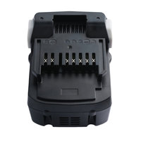 Black PC + ABS Case Lightweight 4000mah 18V/14.4V Li ion Replacement Power Tool Battery for HITACHI Series of Tools