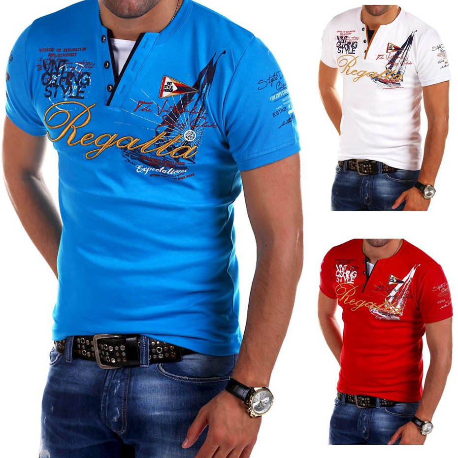 Men's Fashion Personality Cultivating Short-sleeved   T     Shirt   good quality printed men   t     shirt   short sleeve brand new tops tees