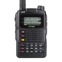 Updated New 5W 128CH UHF VHF Dual Band Handy talkie Frequency Two Way Radio walkie Talkie