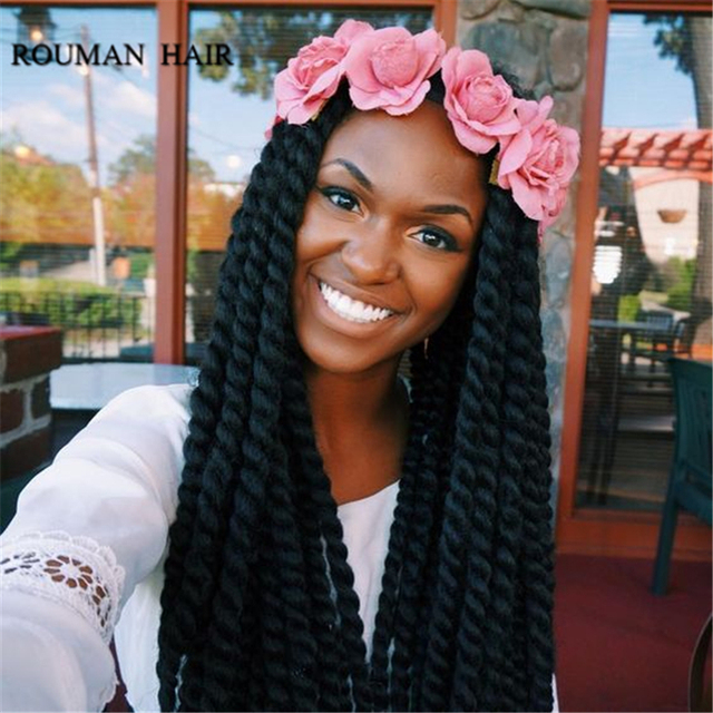 6pcs Lot Wholesale Havana Mambo Twist Crochet Braid Hair