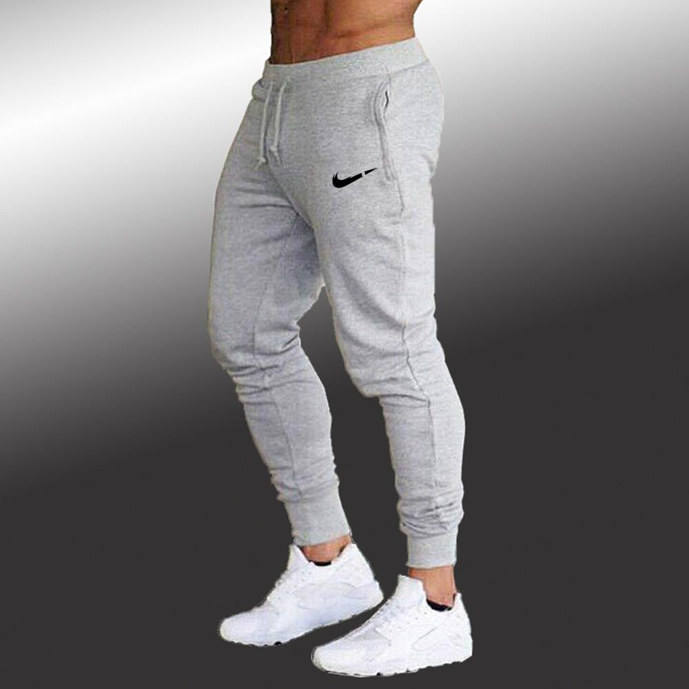 Jogging Pants Men Slim Fit Soccer Sweatpants Cotton Workout Running Tights 2019 Summer Joggers Men's Gym Training Sport Trousers
