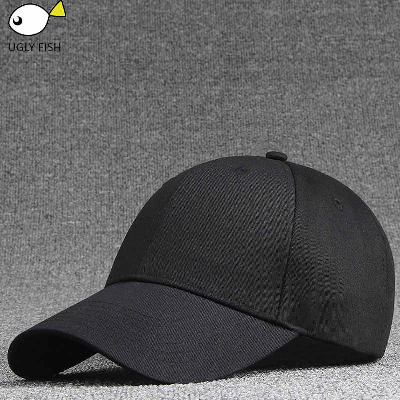 6c83544e women's cap men solid unisex black women men's baseball cap men female cap  black baseball cap