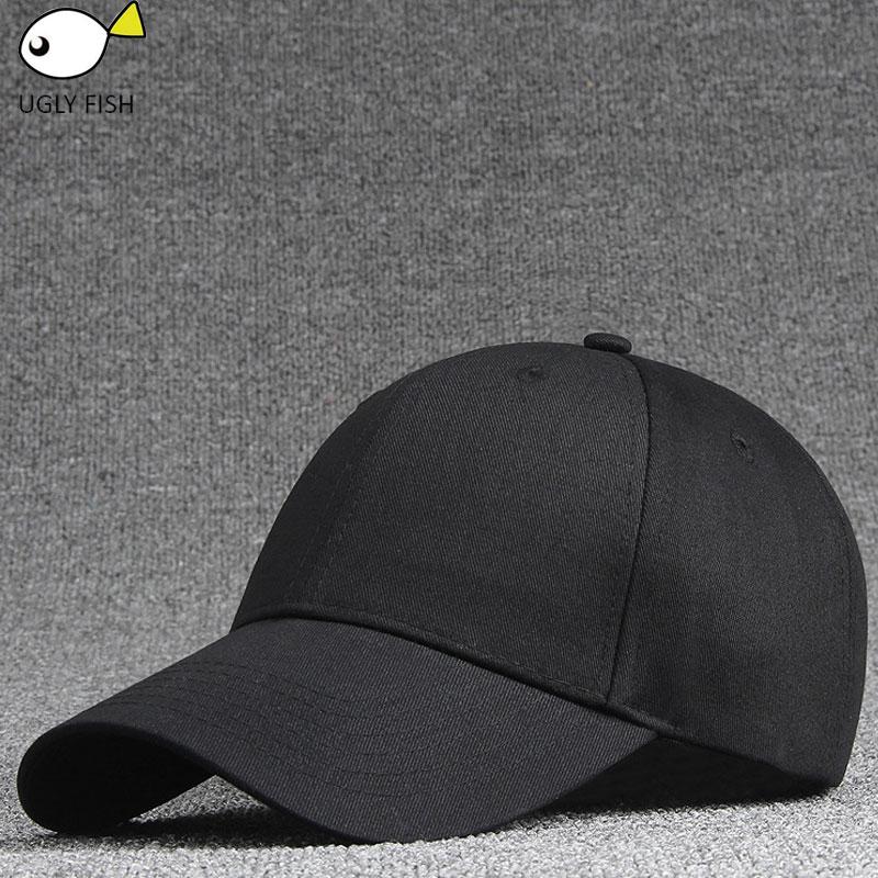 women's cap men solid unisex black women men's baseball cap men female cap black baseball cap women
