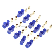 5 Pairs Male Female EC3 Style Connector w/10 Pairs 3.5mm Gold Bullet Banana Plug Hot