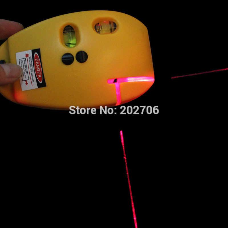 レーザーレベラー建設マーカーツール垂直地平線ライン Nivel Lazer ビームマウススタイルバブルサポート三脚レベル