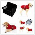 New Pet Dog Waterproof Car Seat Portable Puppy Bag with Clip-on Safety Leash and Zipper Storage Pocket Car Travel Accessories