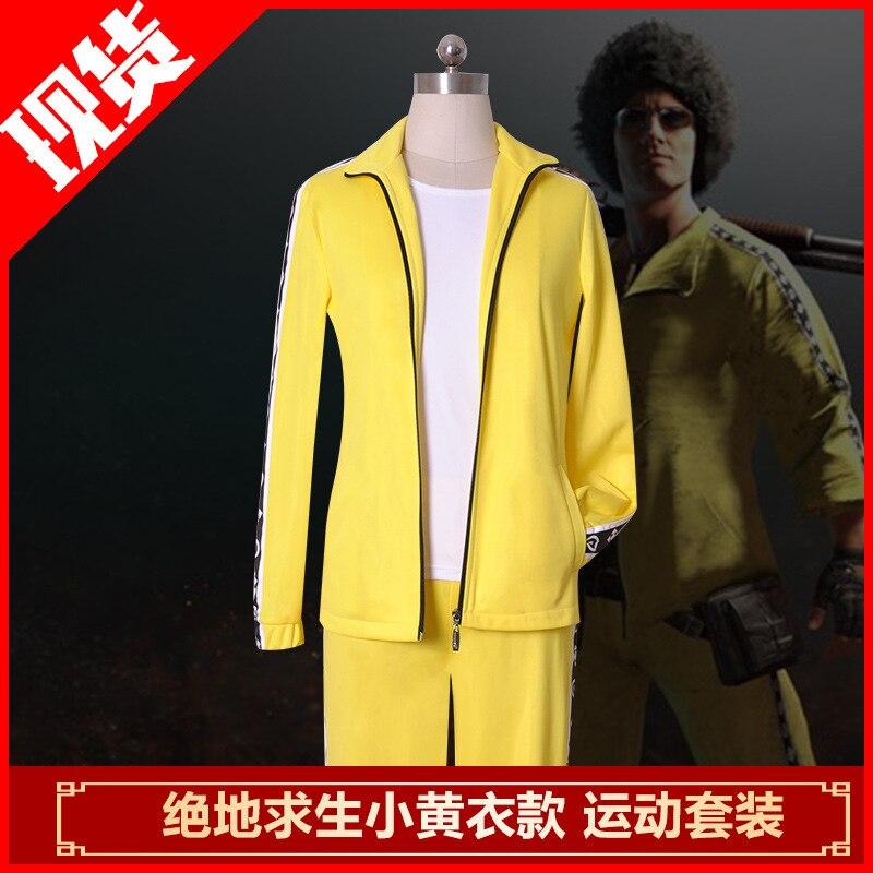 Jeu PLAYERUNKNOWNS Cosplay grande évasion tuer petit jaune vêtements couteaux manger poussin costume Cosplay Costumes livraison gratuite