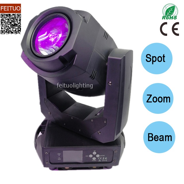 New Arrival Lyre Led Beam 200W Spot Led Moving Head Zoom Gobo lamp DMX Led Light Lumiere Disco Dj party Stage Light Equipment