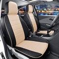 Asientos de coche personalizado fit para honda cr-v 2014/2013 cubierta de asiento de coche Protector PU Leather Car Seat Cover Set Frontal y Trasero Amortiguador para Los Coches