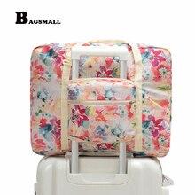 Bagsmall Водонепроницаемый путешествия вещевой женские складные сумки для путешествий выходные Портативный одежды организатор дорожная сумка мешок положить On чемодан
