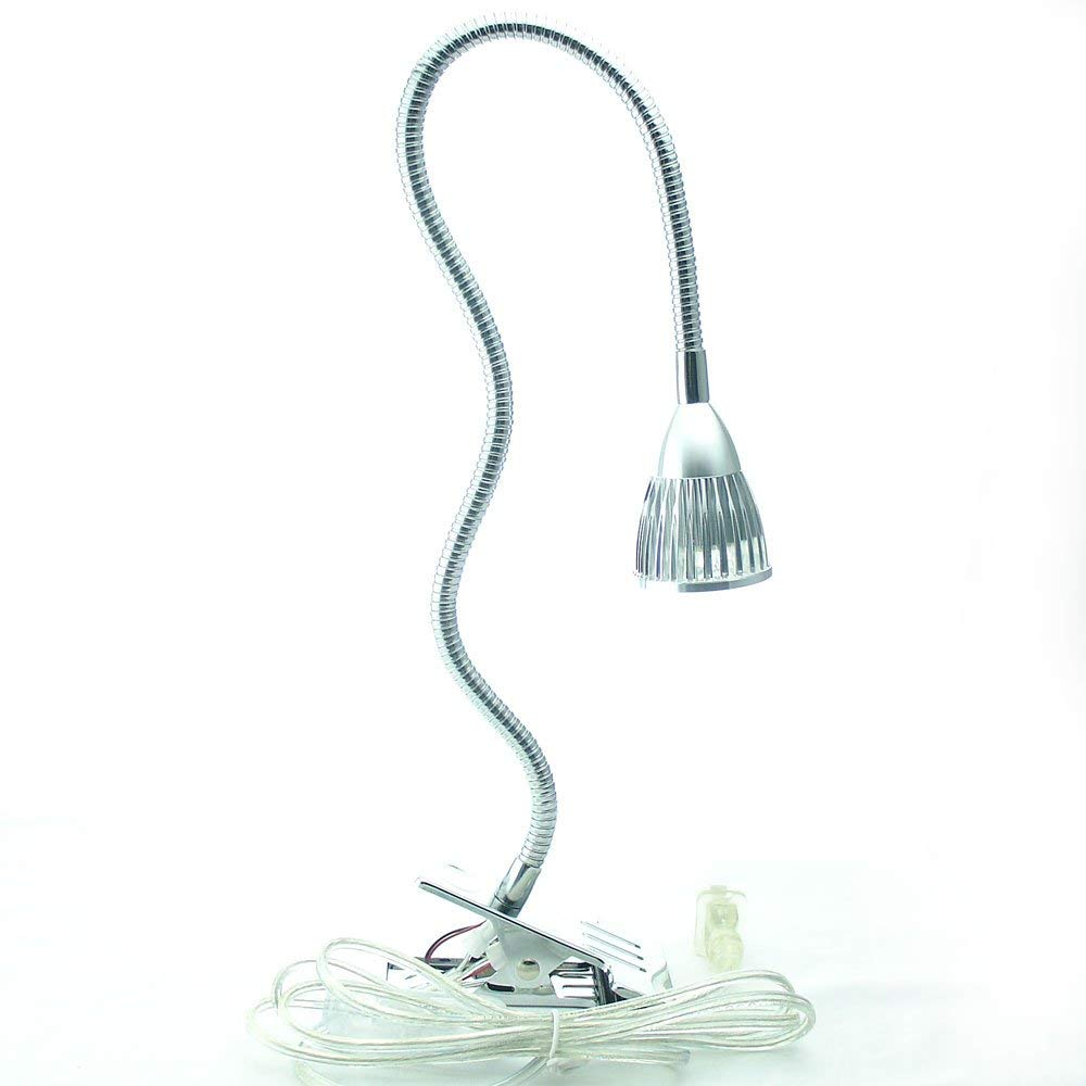 Licht & Beleuchtung Schreibtischlampen Willensstark Led Schreibtisch Tisch Licht 5x1 Watt Clamp Clip Auf Schwanenhals High Power Lampe 85-265 V Eu /uns Stecker