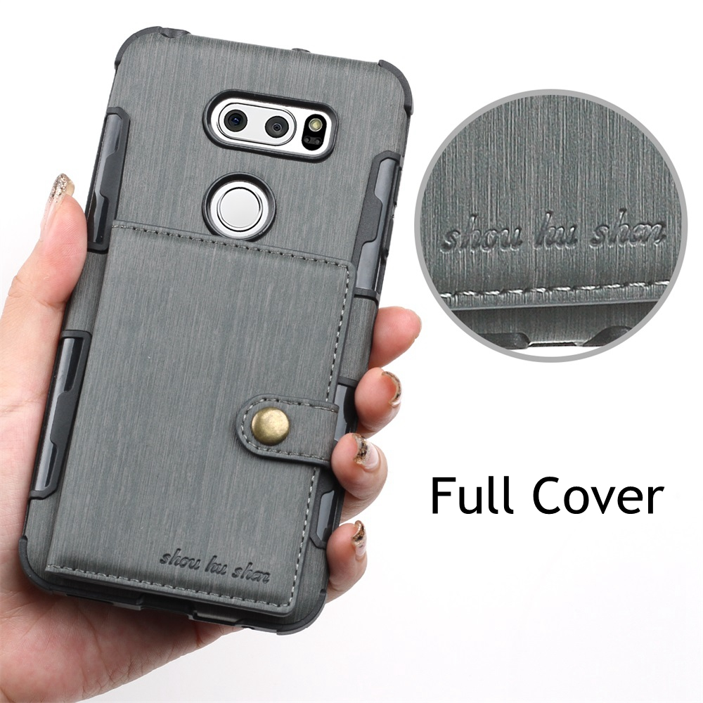 PU Leather Wallet <font><b>Case</b></font> For Moto E4 G4 plus LGV30 Luxury Magnet Anti-fall Shockproof Back Cover For Moto G5s G5 plus G5plus <font><b>Cases</b></font> image