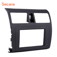 Seicane 173*98mm Face Plate Dash kit Cover Trim Audio Frame Car Stereo Radio Fascia Panel for 2009 Suzuki Swift with Ventilation