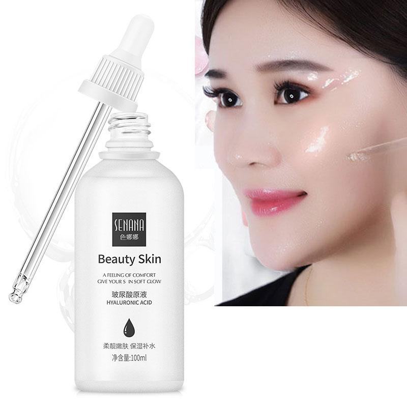 100ml Pure Liquid Hyaluronic Acid Face Serum Skin Care Anti Wrinkle Essence Whitening Moisturizing Facial Hyaluronik Asit Serum