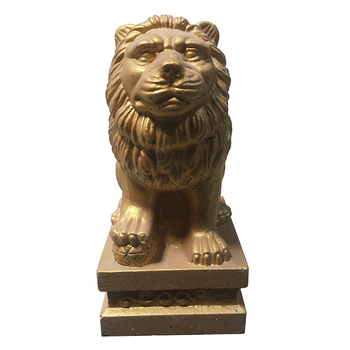 ABS plastic moulds concrete lion statue molds for home villa garden house decoration the customized of abs plastic moulds