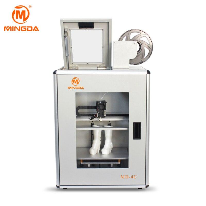 MINGDA MD-4C 3D Machine d'impression haute précision industrielle grande imprimante 3D Version améliorée impression silencieuse imprimante 3D meilleur