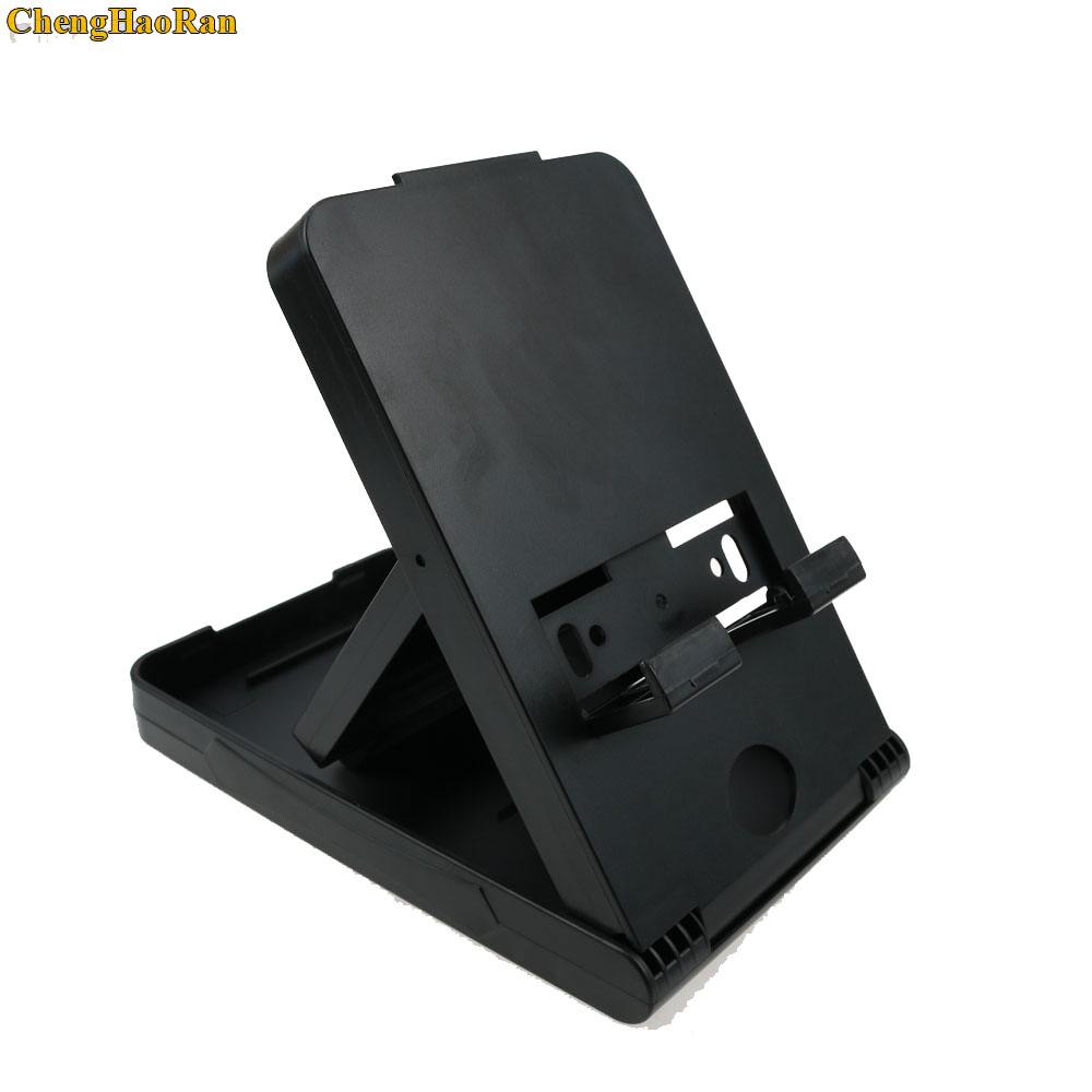 Image 2 - Foldable ABS Adjustable Holder Support Frame Bracket Compact Play stand Desktop Stand Bracket for Nintend Switch NS Host holder-in Replacement Parts & Accessories from Consumer Electronics