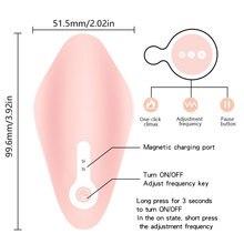 Silicone Strap-on Dildo Clitoris Stimulator Vibrator