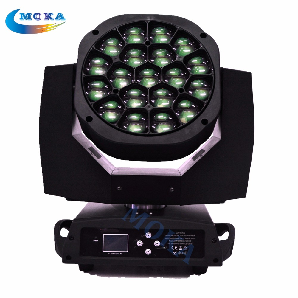 19x15W RGBW 4in 1 LED Bee Eye Moving Head Light Disco lighting for Concert/Party/Stage