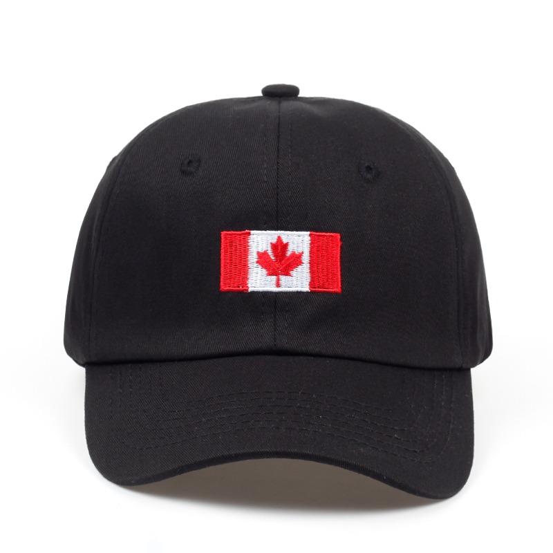 2018 brand Canada letter embroidery   baseball     caps   cotton gorra snapback curved dad hat leisure outdoor women men sports   cap