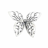 925 Sterling Silver Animal Charms Butterfly Charms Beads Fits DIY Pandora & Troll Bracelet Jewelry Wholesale