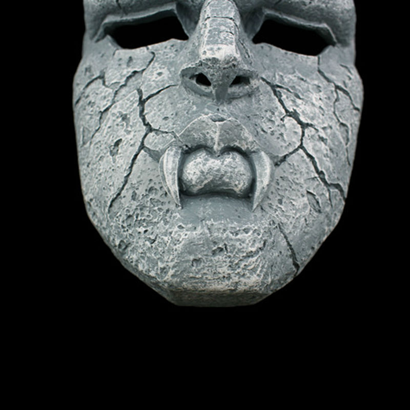 Image 5 - Stone Ghost Full Face Resin Mask Juvenile Comics JOJO Amazing  Adventures Gargoyle Theme Masks Halloween Masquerade Party  Propsmasquerade partyresin maskmask halloween