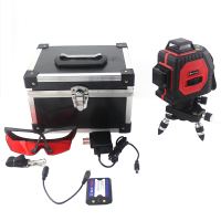 12 Lines Laser Level 3D Self Leveling Tools 360 Degree Horizontal And Vertical Super Powerful Red