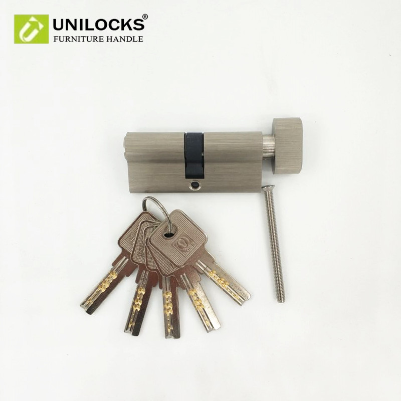 UNILOCKS Copper Core Door Locks Security Locking Cylinders (70mm=35+35mm) for 40 to 50mm Thickness Door door locks security lock cylinders more than 70mm 80mm for 35 50mm thickness door lock for home copper core lock cylinders page 4