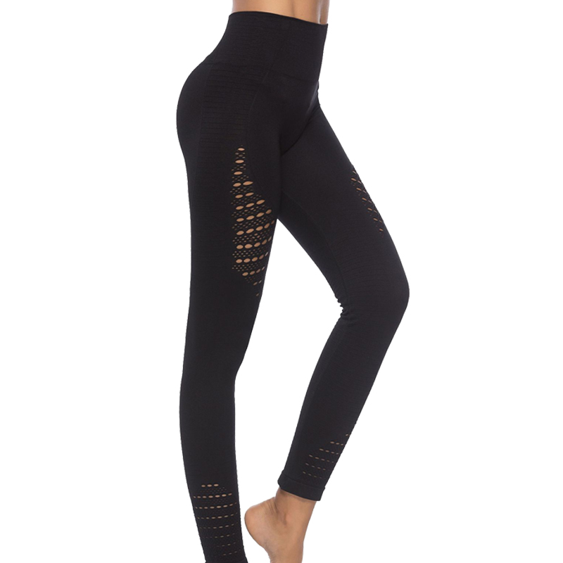 Sports Pants Gym Yoga Compression Tights Energy Seamless Pants Super Stretchy High Waist Fitness Leggings Running Pants Women fashionable sporty stretchy print ankle yoga pants for women