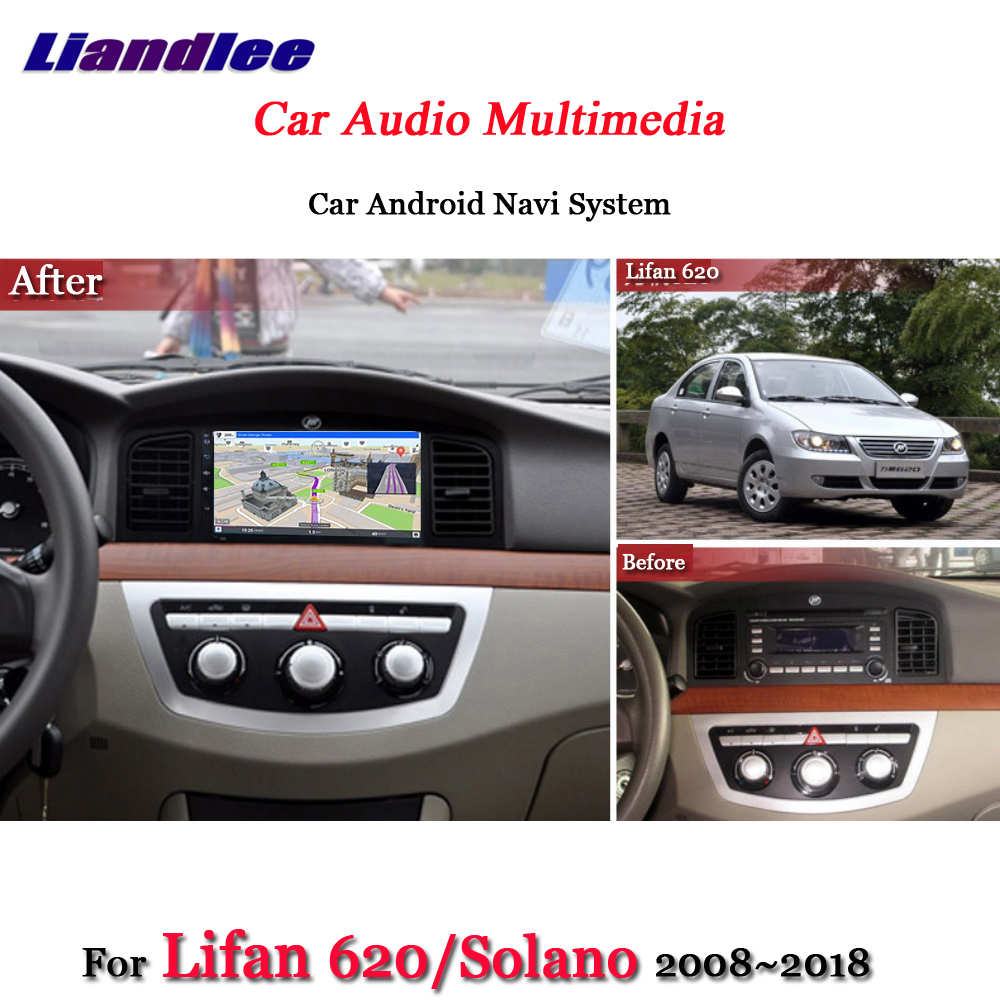 Liandlee Car Android System For Lifan 620 / Solano 2008~2018 Radio Video BT GPS Navi MAP Navigation HD Screen Multimedia No DVD цена