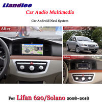 Liandlee Car Android System For Lifan 620 / Solano 2008~2018 Radio Video BT GPS Navi MAP Navigation HD Screen Multimedia No DVD