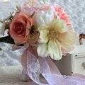 2016 Свадебные Цветы Свадебные Букеты Мода Красочные Элегантный Ручной Работы Искусственные Цветы Bridemaids с Цветами в Руках