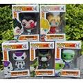 Funko POP Mini Dragon Ball Son Goku Piccolo Frieza Cell Vegeta Vinyl PVC Collection Figure Model Toy with Retail Box for Gift
