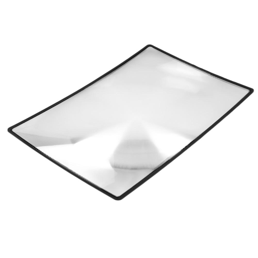 ACEHE 180X120mm Lupa Pohodlné A5 Ploché PVC List X3 Kniha Stránka - Měřicí přístroje - Fotografie 4