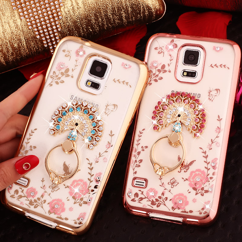 2017 New Note 5 4 3 2 Girl Woman Lady Soft TPU Cover 3D Diamond Bling