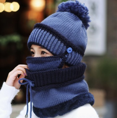 2018-HOT-Winter-Beanie-Hat-Scarf-and-Mask-Set-3-Pieces-Thick-Warm-Knit-Cap(3)