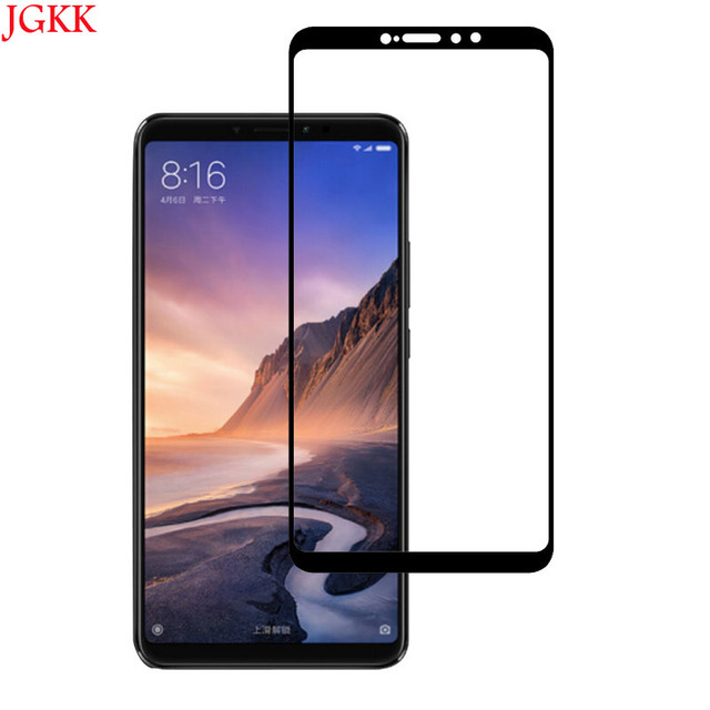 finest selection 9d1bc 3ef5d US $1.19  For xiaomi mi max 3 Tempered Glass Full Cover 2.5D Screen  Protector For xiaomi mi max 3 Phone Glass Film For xaomi mi max 3-in Phone  Screen ...